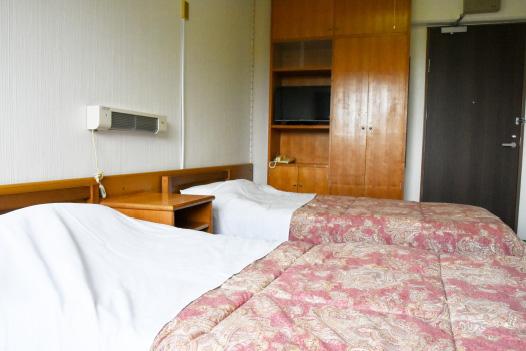 洋室2人部屋