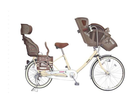 幼児2人乗せ自転車