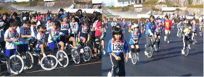 新春静岡県一輪車競技大会「5キロマラソン」
